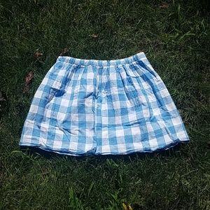 Beautiful J. Crew Gingham Skirt